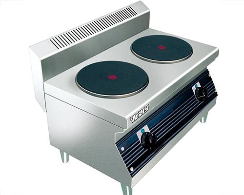 TC-908二头台式煮食炉