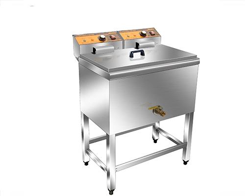 HY-906单缸单筛电炸炉