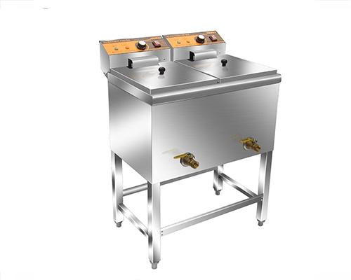 HY-905双缸双筛电炸炉