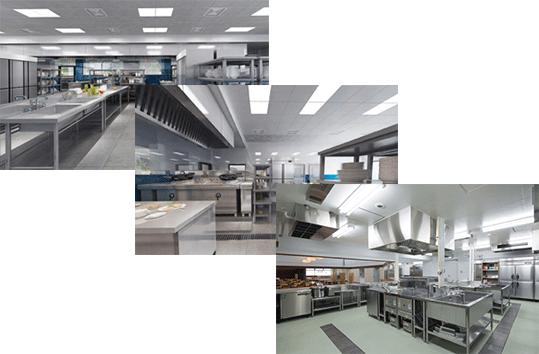 多年专注于厨房设备工程